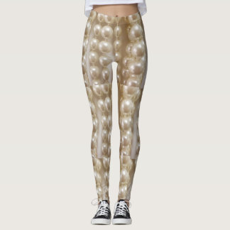 maniquin pearls leggings