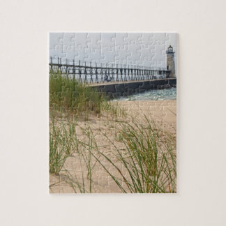 Manistee Lighthouse Jigsaw Puzzle