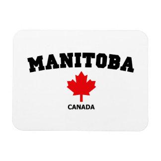 Manitoba Block Rectangular Photo Magnet