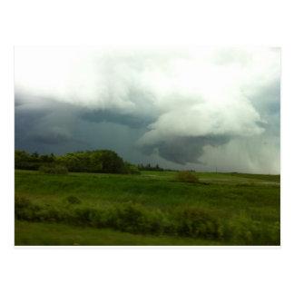 Manitoba Storms Postcard
