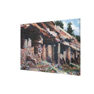 Manitou Springs, Colorado - Cliff Dwellings Canvas Print