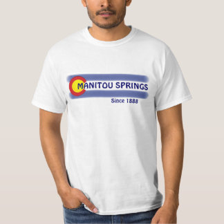 Manitou Springs Colorado local flag value tee