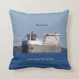 Manitoulin LLC square pillow