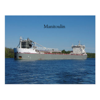 Manitoulin post card