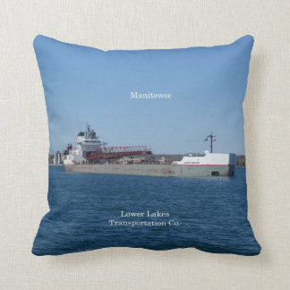 Manitowoc square pillow
