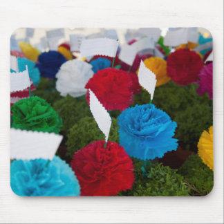 Manjericão Basil paper flowers photo Mouse mat