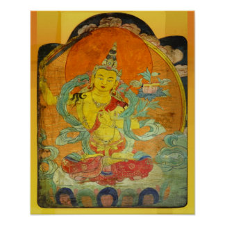 Manjushri, Bodhisattva of Wisdom Poster