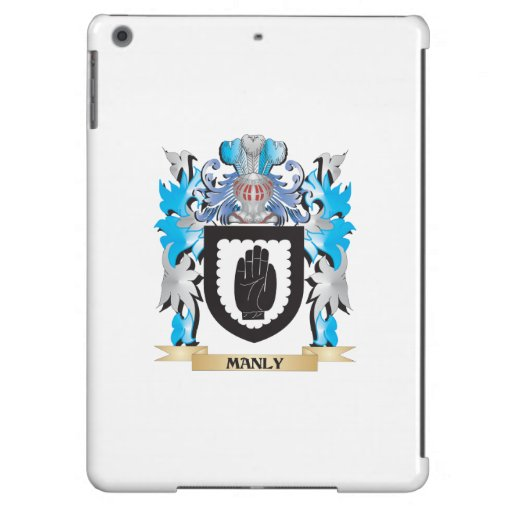Manly Coat of Arms - Family Crest iPad Air Cover