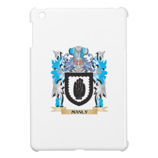 Manly Coat of Arms - Family Crest Cover For The iPad Mini