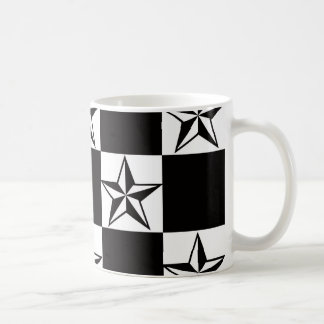 Manly Dark Stars Print Coffee Mug