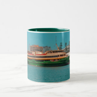 Manly Ferry Two-Tone Coffee Mug