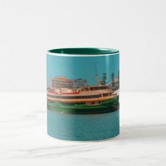Manly Ferry Two-Tone Coffee Mug