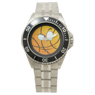 Manly Man Baller Emoji Watch