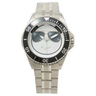 Manly Man Kool Kat Panda Emoji Watch