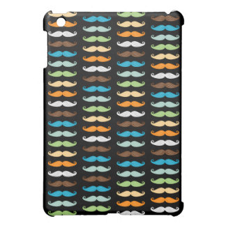 Manly Mustaches iPad Mini Covers