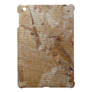 Manly Plywood OSB Wood Faux Texture iPad Mini Cover