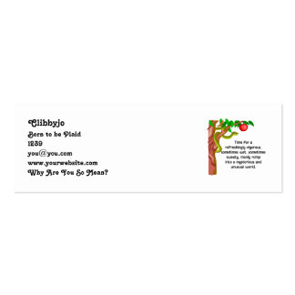 Manly Romp Business Card Templates
