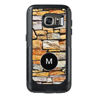 Manly Stone Wall Monogram OtterBox Samsung Galaxy S7 Case