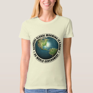 Manmade Global Warming Hoax T-Shirt