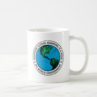 Manmade Global Warming Is A Hoax Coffee Mugs