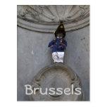 Manneken Pis Postcard