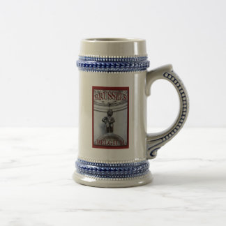 Mannekin Pis in Brussels Beer Stein