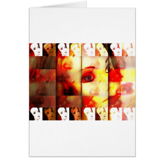 mannequin dreams greeting card