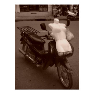 """Mannequin Motorcycle"" Poster"