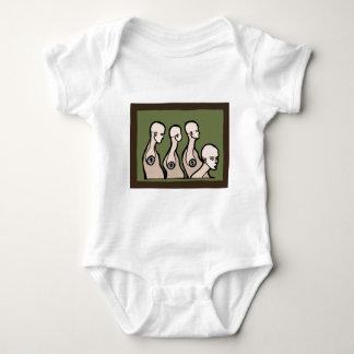 Mannequin Torsos Baby Bodysuit