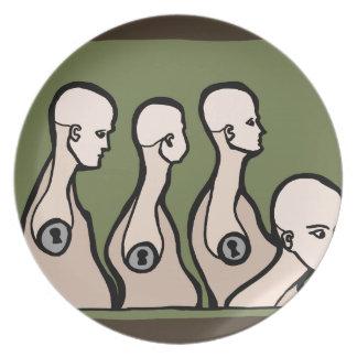 Mannequin Torsos Plate
