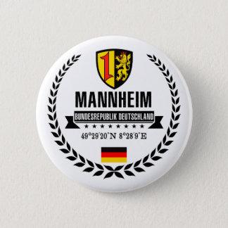 Mannheim 6 Cm Round Badge