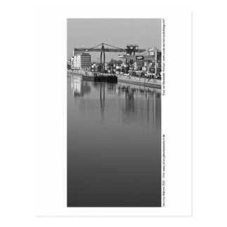 Mannheim - at the port postcard