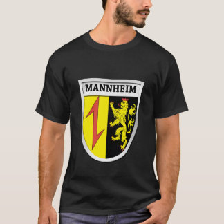 Mannheim Coat of Arms (Wappen) 0011 T-Shirt