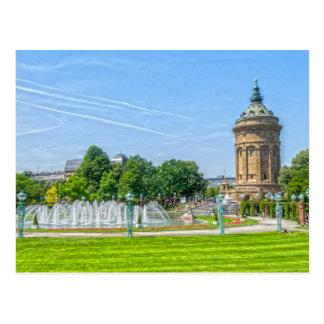 Mannheim Postcard
