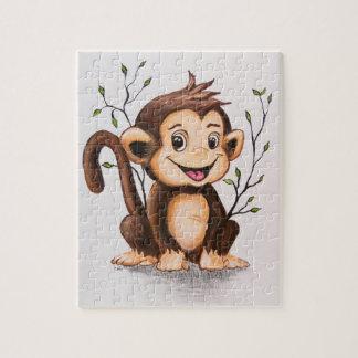Manny the Monkey Jigsaw Puzzle
