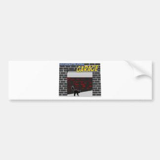 manomtr garage bumper sticker