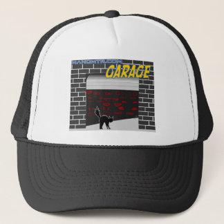 manomtr garage trucker hat