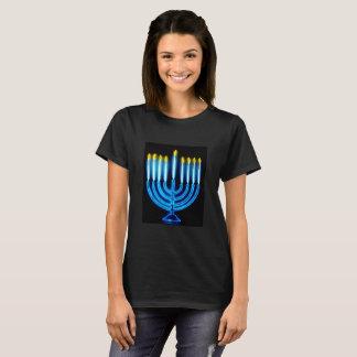 Manorah  Hanukkah T-Shirt