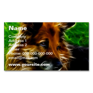 Man's Best Friend #1 Magnetic Business Cards