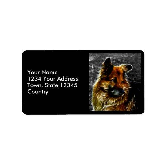 Man's Best Friend #3 Address Label
