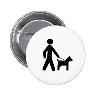 Man's Best Friend Button
