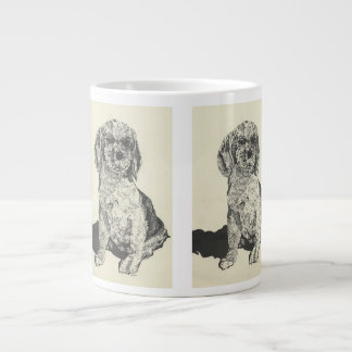 Mans Best Friend  Cocker Spaniel Large Coffee Mug