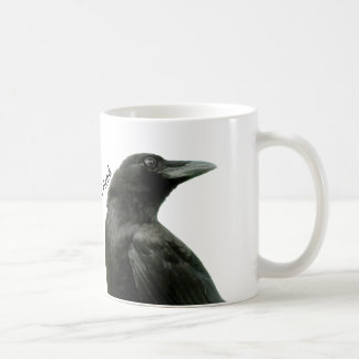 Man's Best Friend Crow Mug