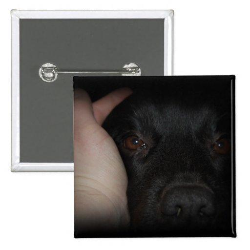 Mans Best Friend Dog Button