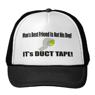 Mans Best Friend Funny T-shirts Gifts Trucker Hat