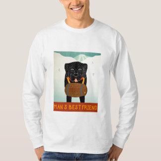 Mans Best Friend - Long sleeved T- Stephen Huneck T-Shirt