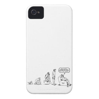 Man's Evolution iPhone 4 Covers