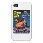 Man's Life, Sept. 1956 - Weasels Ripped My Flesh! iPhone 4 Covers