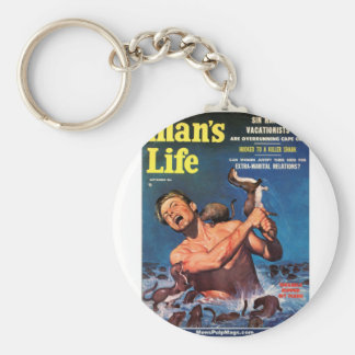 Man's Life, Sept. 1956 - Weasels Ripped My Flesh! Key Ring