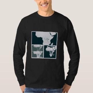 Mans map t shirt